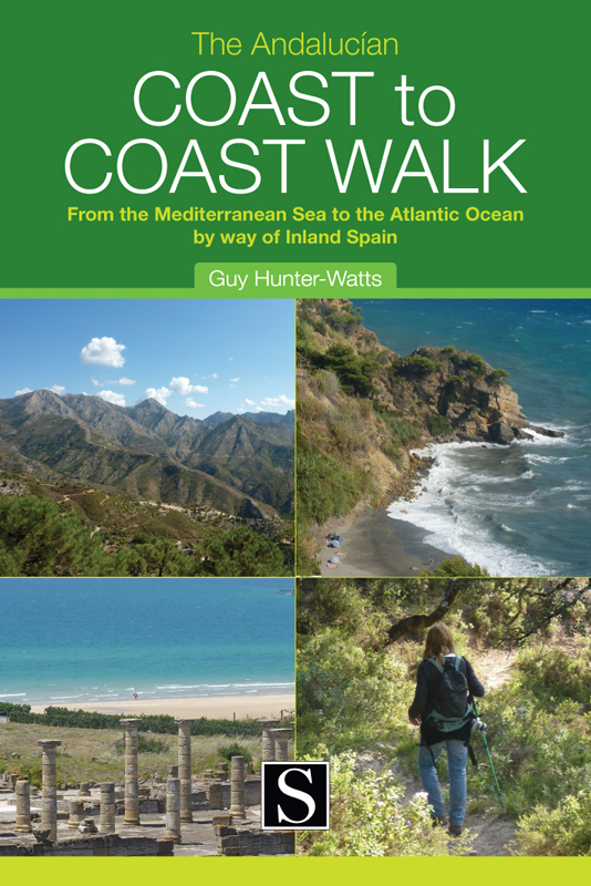 Wandelgids The Andalucían Coast-To-Coast Walk - Andalucië   Santana books   Guy Hunter-Watts