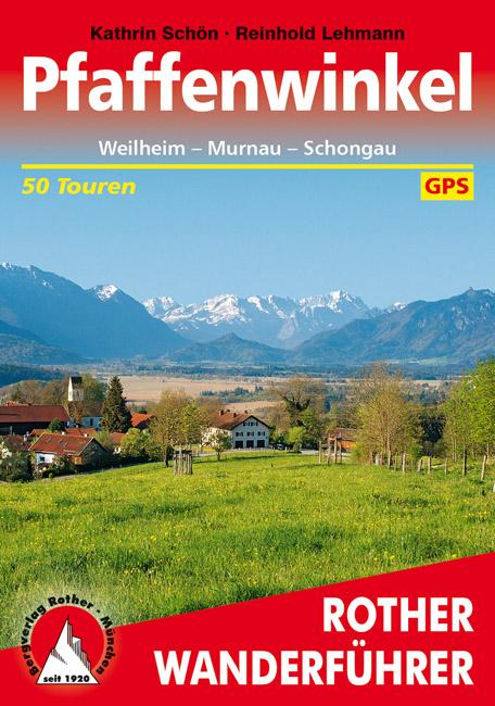 Wandelgids Pfaffenwinkel   Rother Verlag