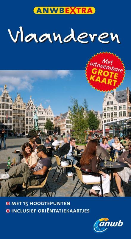 Reisgids Vlaanderen   ANWB Extra