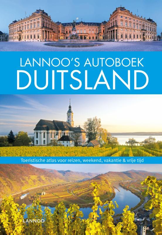 Reisgids - wegenatlas - autoboek Duitsland   Lannoo