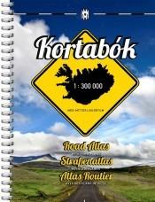 Kortabok Road Atlas Island - Wegenatlas IJsland   Mal og Menning