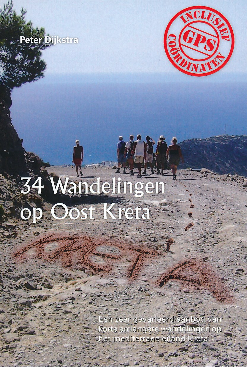 Wandelgids 34 Wandelingen op Oost Kreta   Peter Dijkstra