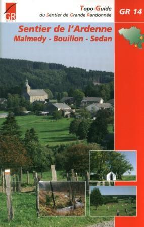 Wandelgids GR14 SENTIER DE L'ARDENNE   Grote routepaden