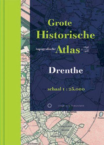 Grote Historische topografische atlas Drenthe   Nieuwland