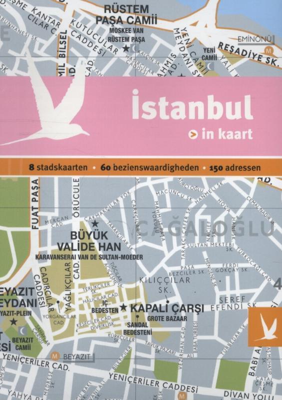 Reisgids + plattegrond Istanbul in kaart   Dominicus Gottmer