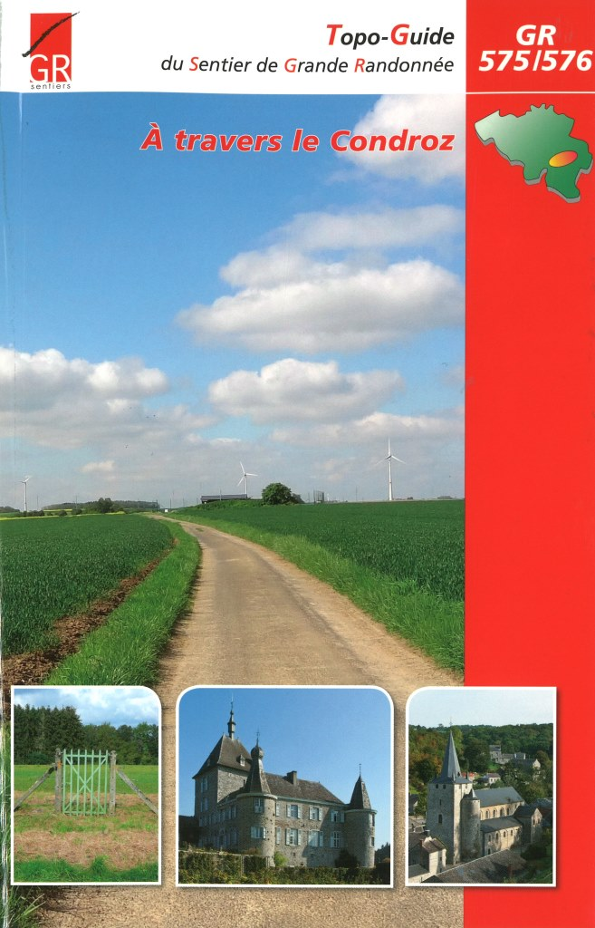 Wandelgids A Travers le Condroz GR 575- GR 576   Grote Routepaden