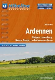 Wandelgids Wanderführer Ardennen   Hikeline
