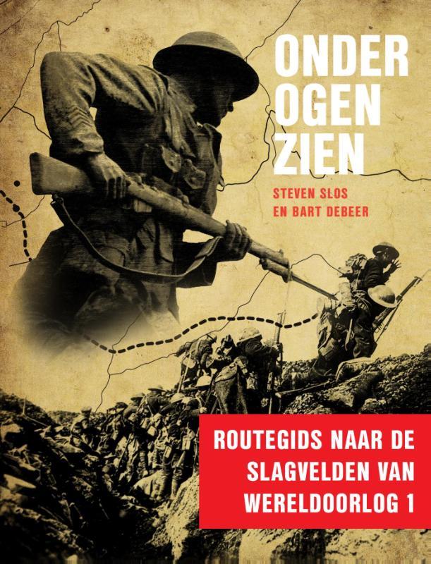Reisgids Onder ogen zien   Just publishers   Steven Slos,Bart Debeer