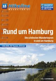 Wandelgids Wanderf�hrer Rund um Hamburg   Hikeline