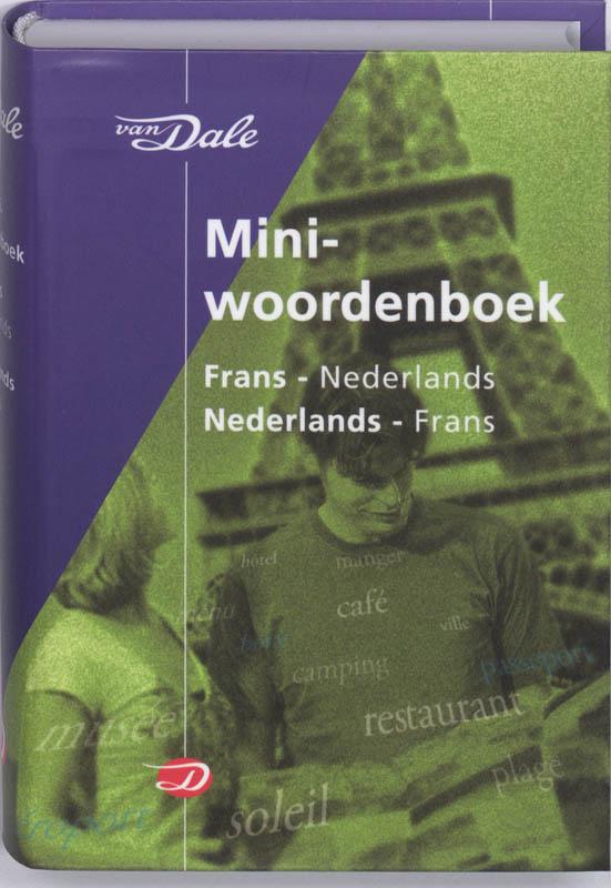 Woordenboek Van Dale Miniwoordenboek Frans - Taalgids   van Dale