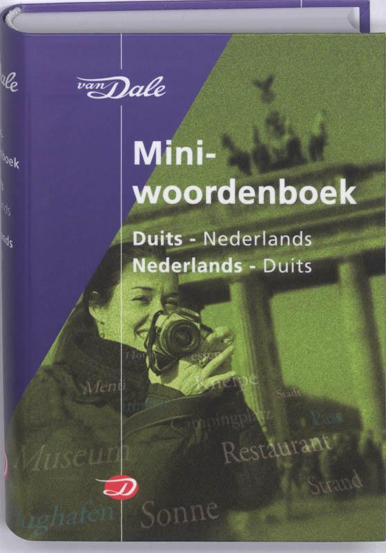 Woordenboek Van Dale Miniwoordenboek Duits - Taalgids   van Dale
