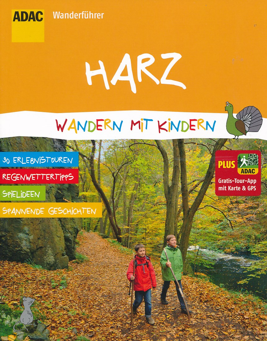 Wandelgids Wandern mit Kindern im Harz   ADAC