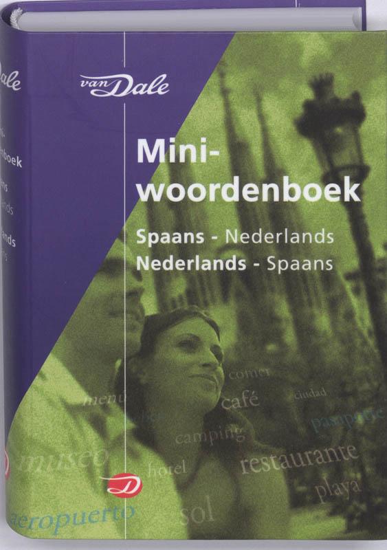 Woordenboek Van Dale Miniwoordenboek Spaans - Taalgids   van Dale