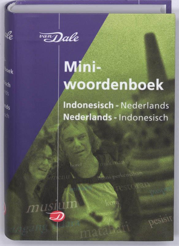 Woordenboek Van Dale Miniwoordenboek Indonesisch - Taalgids   van Dale