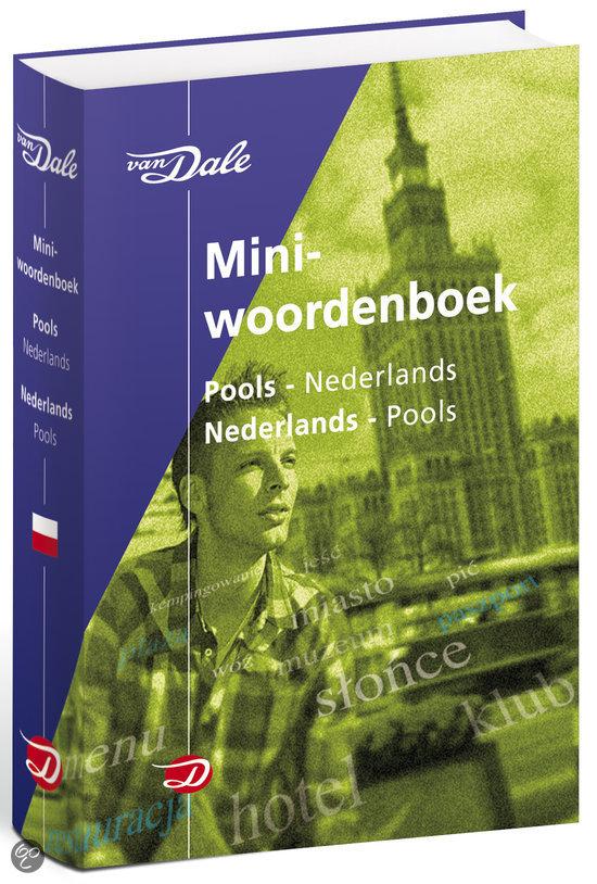 Woordenboek Van Dale Miniwoordenboek Pools - Taalgids   van Dale