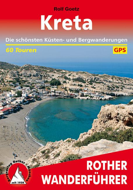 Wandelgids Kreta   Rother Verlag   Rolf Goetz