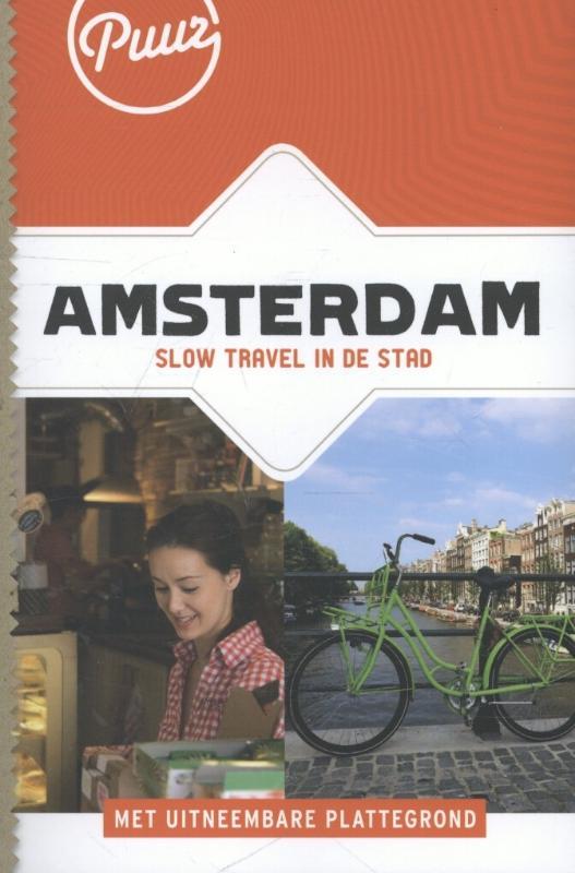 Reisgids Puur Amsterdam   Unieboek   Jessica van Zanten,Michele Bevoort