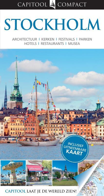 Reisgids Stockholm   Capitool compact reisgids