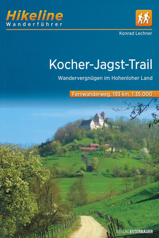 Wandelgids Wanderf�hrer Kocher-Jagst-Trail   Hikeline