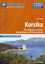 Wandelgids Wanderführer Corsica - Korsika   Hikeline