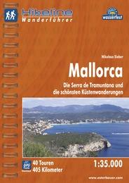 Wandelgids Wanderführer Mallorca  Hikeline