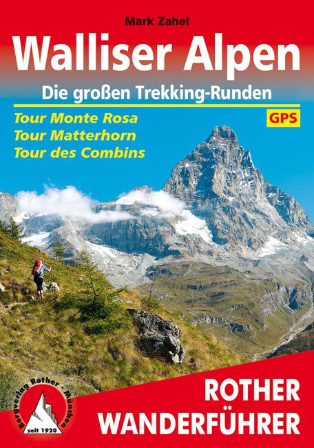 Wandelgids Walliser Alpen   Rother