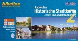 Fietsgids Radrouten Historische Stadtkerne im Land Brandenburg 2   Bikeline