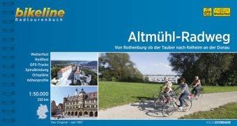 Fietsgids Altm�hl - Radweg   Bikeline