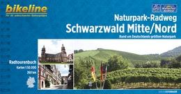 Fietsgids Naturpark-Radweg Schwarzwald Mitte - Nord   Bikeline