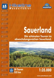 Wandelgids Wanderf�hrer Sauerland   Hikeline