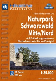 Wanderf�hrer Wandelgids Naturpark Schwarzwald Mitte   Hikeline