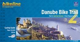 Fietsgids Bicycle Guide Danube Bike Trail 2 (Engels - Donau Radweg)   Bikeline