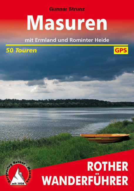 Wandelgids Masuren - Masurische meren   Rother verlag