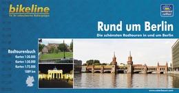 Fietsgids Radatlas Rund um Berlin Berlijn   Bikeline