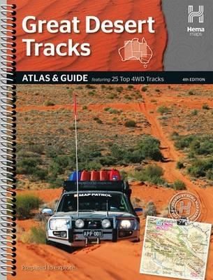 Wegenatlas Australië - Great Desert Tracks Atlas & Guide   Hema maps