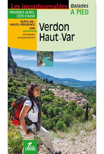 Wandelgids Verdon - Haut Var   Chamina