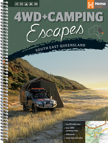 Wegenatlas 4WD + Camping Escapes - South East Queensland   Hema