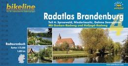 Fietsgids Radatlas Brandenburg 4   Bikeline