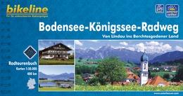 Fietsgids Bodensee - Konigssee - Radweg   Bikeline