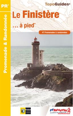 Wandelgids D029 Finistere a pied   FFRP