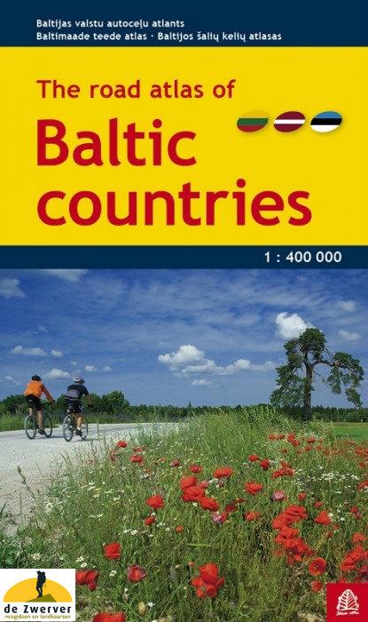 Wegenatlas Baltische Staten   Jana Seta