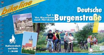 Fietsgids Deutsche Burgenstrasse 1   Bikeline