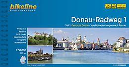 Fietsgids Donauradweg deel 1 Donauschingen tot Passau   Bikeline