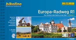 Fietsgids Europa radweg R1   Bikeline