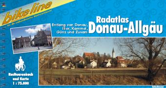 Fietsgids Radatlas Donau - Allg�u   Bikeline
