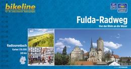 Fietsgids Fulda radweg   Bikeline