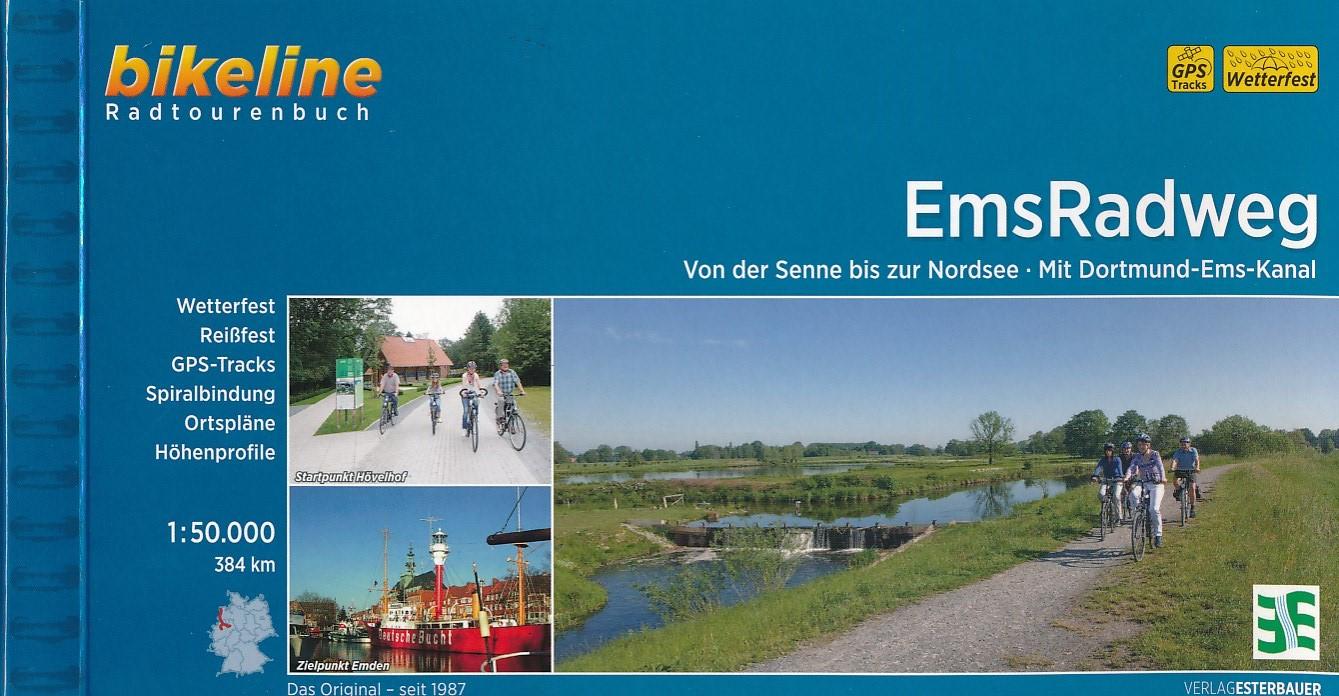Fietsgids Ems Radweg   Bikeline Esterbauer