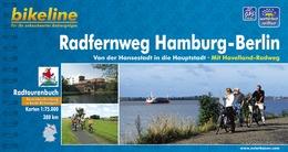 Fietsgids Radfernweg Hamburg  - Berlin (Berlijn)   Bikeline