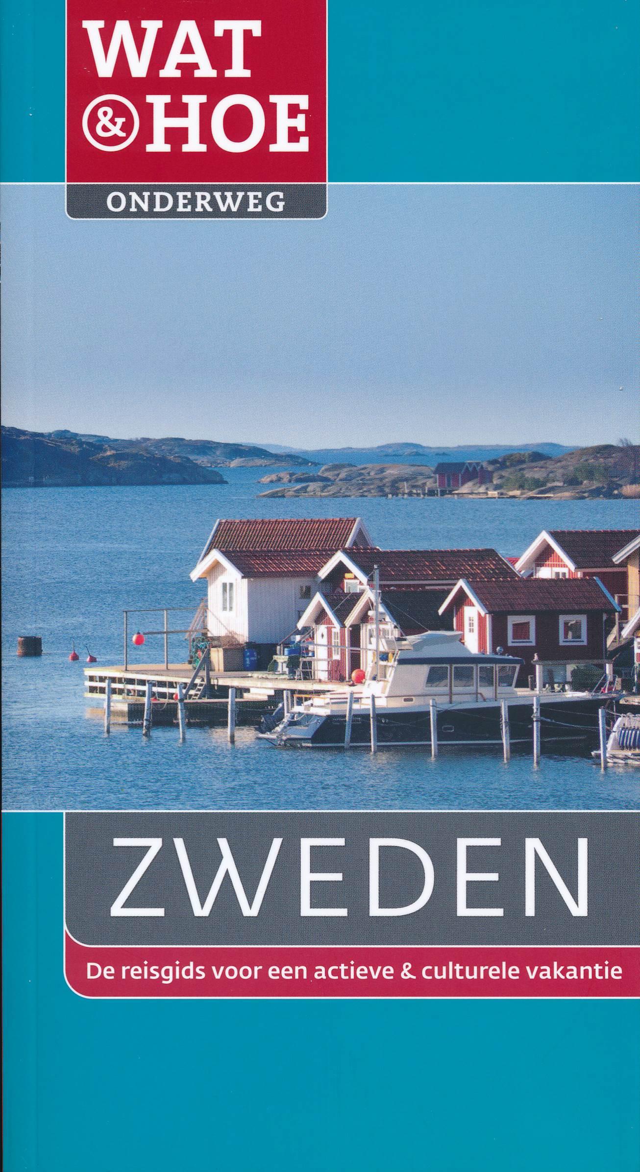 Reisgids Wat & Hoe Onderweg Zweden   Kosmos