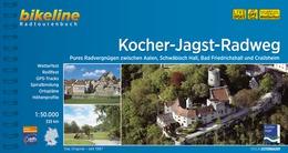 Fietsgids Kocher-Jagst-Radweg   Bikeline